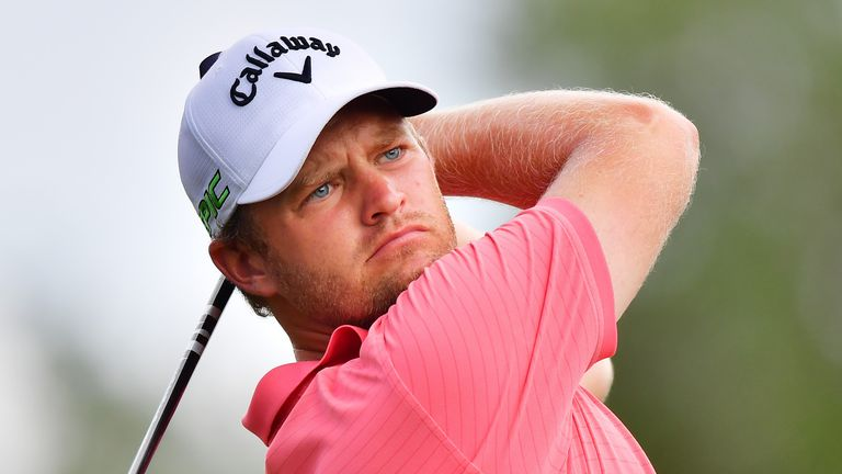 Tom Lewis is in contention after a 65