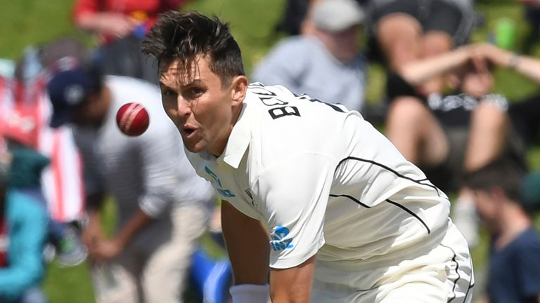 New Zealand left-arm fast bowler Trent Boult is set to miss at least the first Test against England this summer