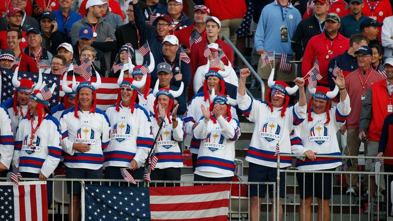Team USA will have the benefit of a home crowd at Whistling Straits