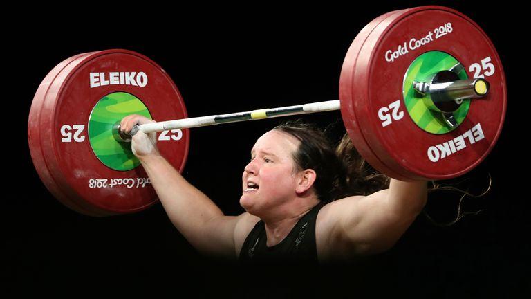 Laurel Hubbard a participé aux Jeux du Commonwealth 2018 sur la Gold Coast