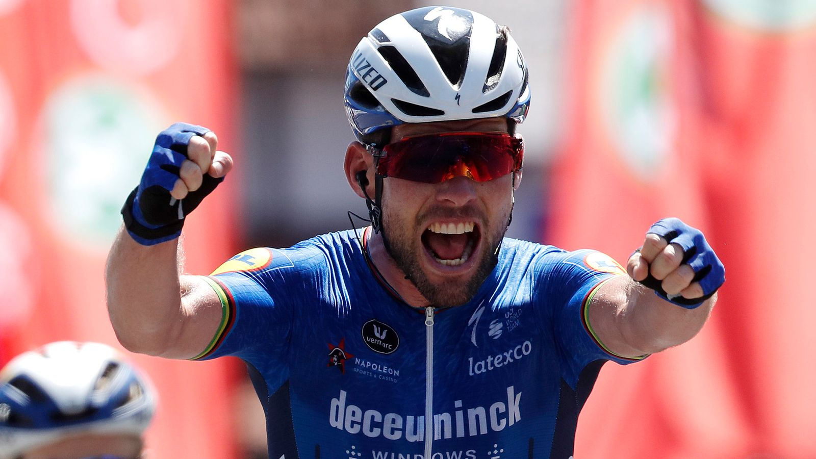 Mark Cavendish triumphs in final stage of Tour of Belgium with team-mate Remco Evenepoel overall winner