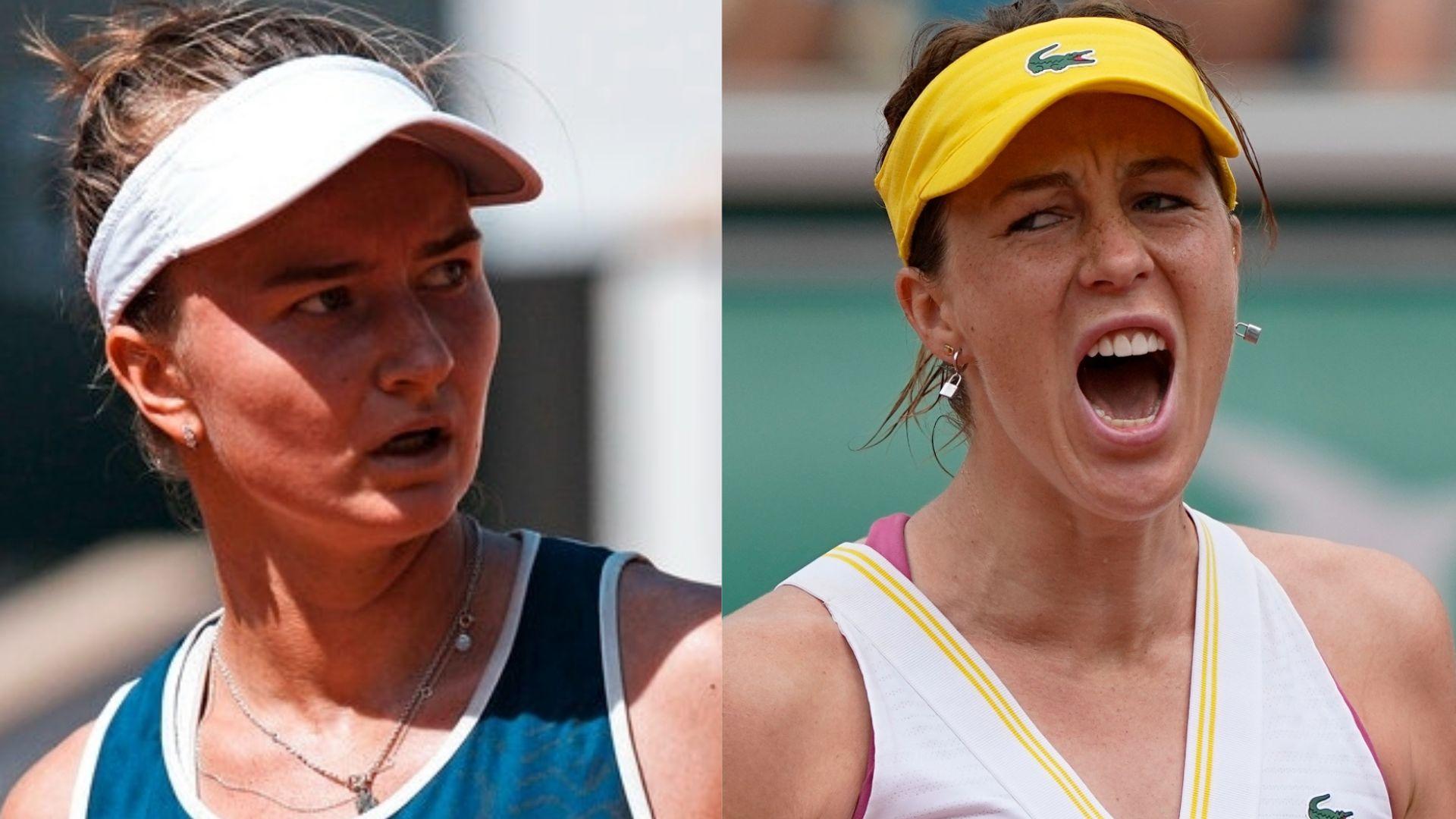 French Open final of firsts for Krejcikova and Pavlyuchenkova