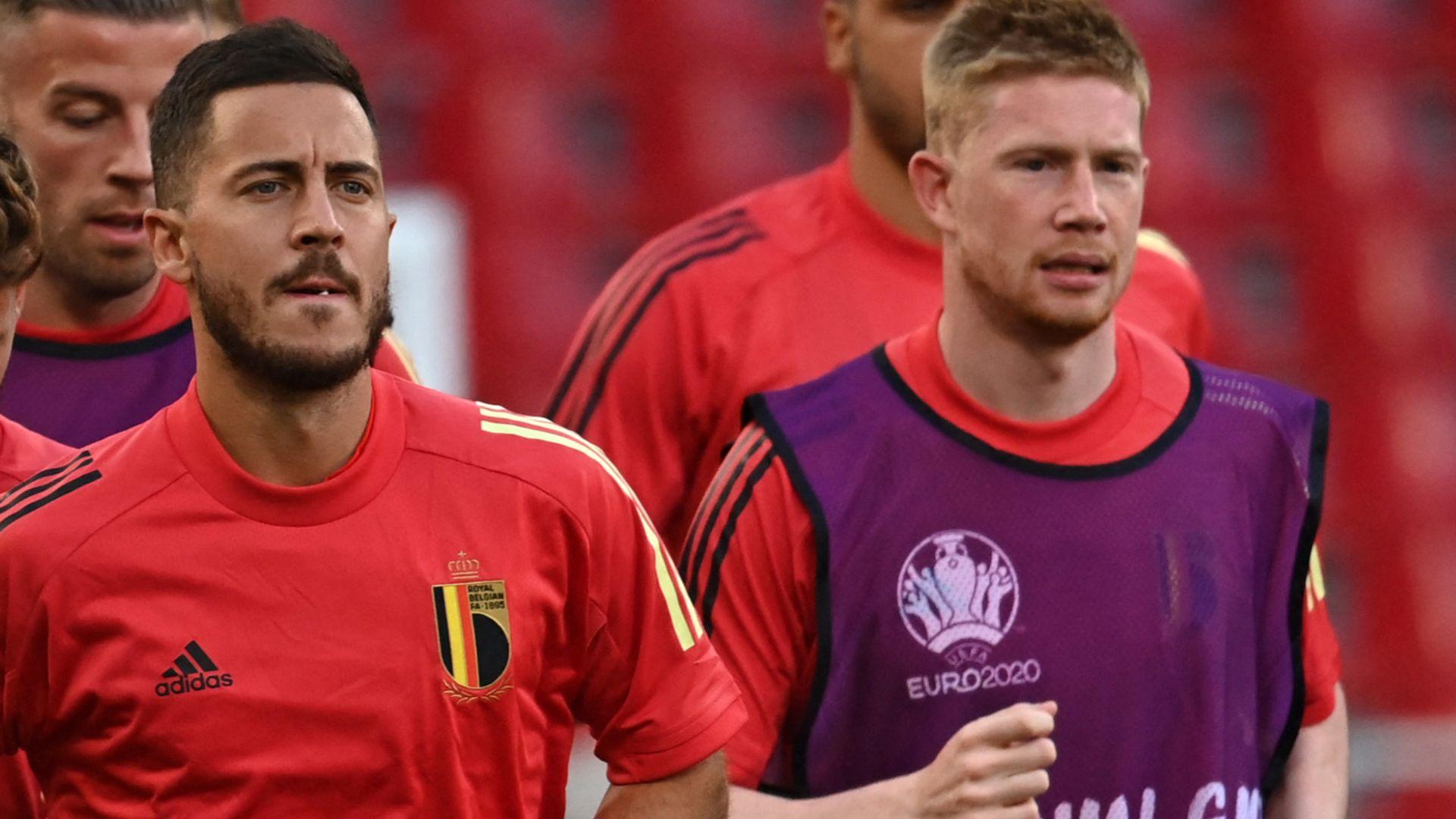 Martinez: De Bruyne, Hazard doubts for Belgium's QF
