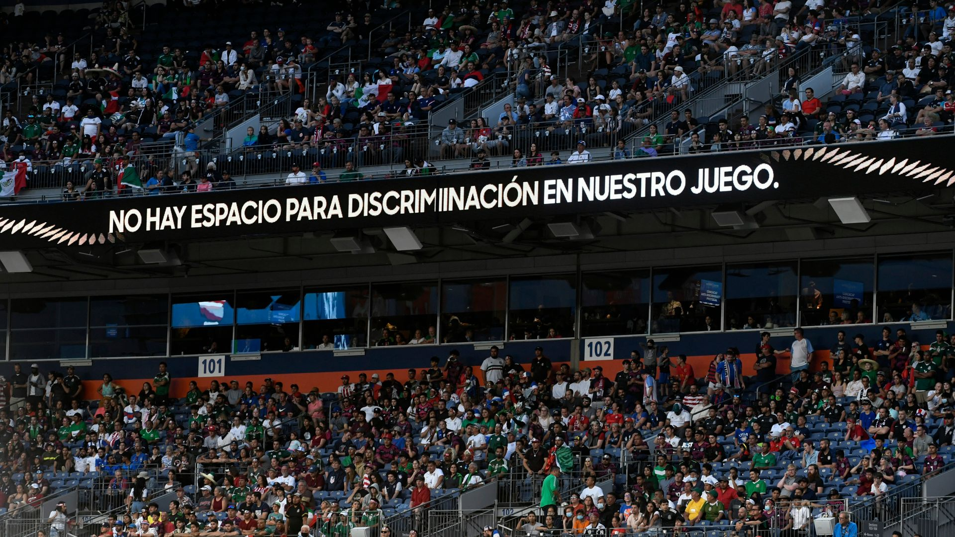 Mexico sanctioned over homophobic chants