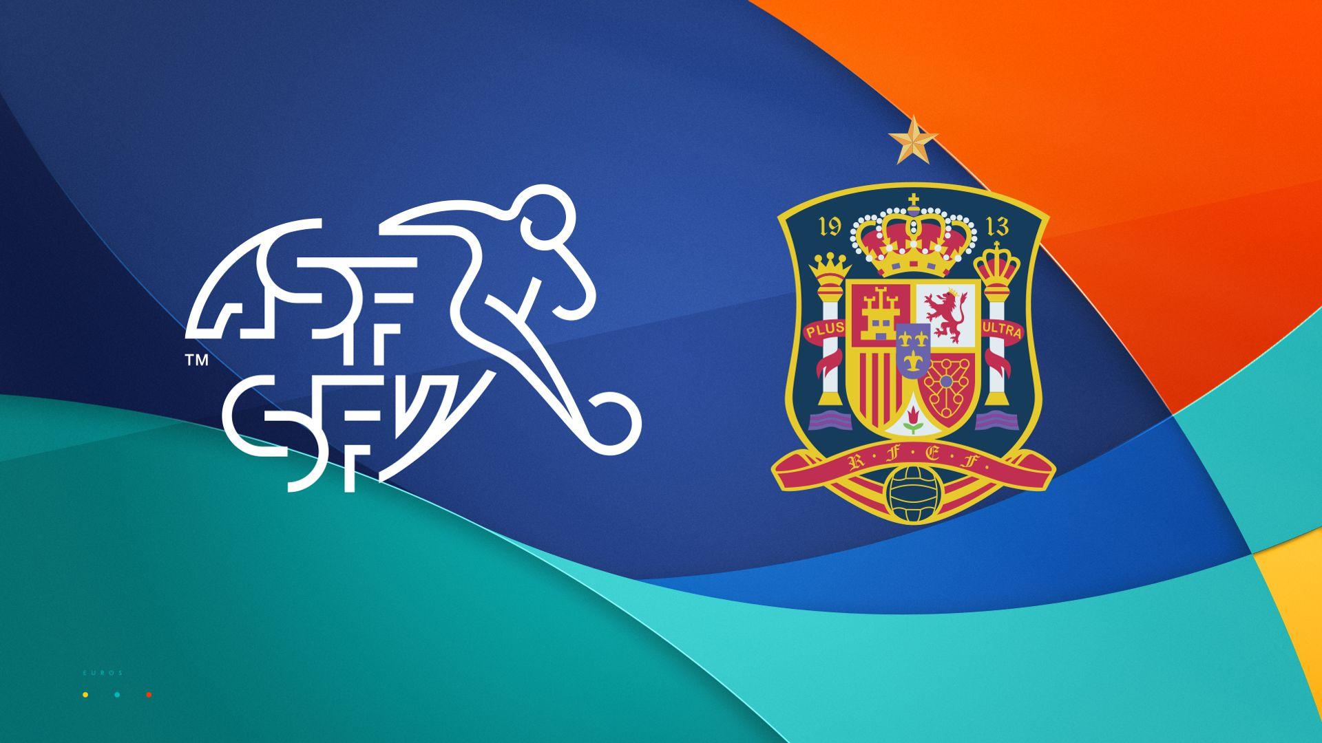 Stats companion: Switzerland vs Spain
