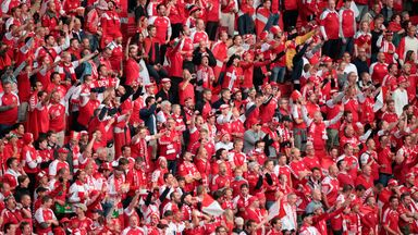 Denmark have played all three group games at Euro 2020 in Copenhagen