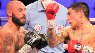 Lewis Ritson was stopped in the 10th round in Newcastle
