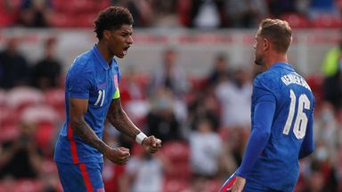 Marcus Rashford converted from the spot to give England a 1-0 win over Romania