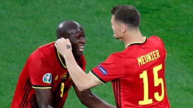 Romelu Lukaku and Thomas Meunier both scored in 3-0 win over Russia in St Petersburg