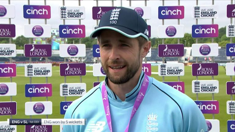 Man of the match, Chris Woakes sums up his performance after taking 4-18.