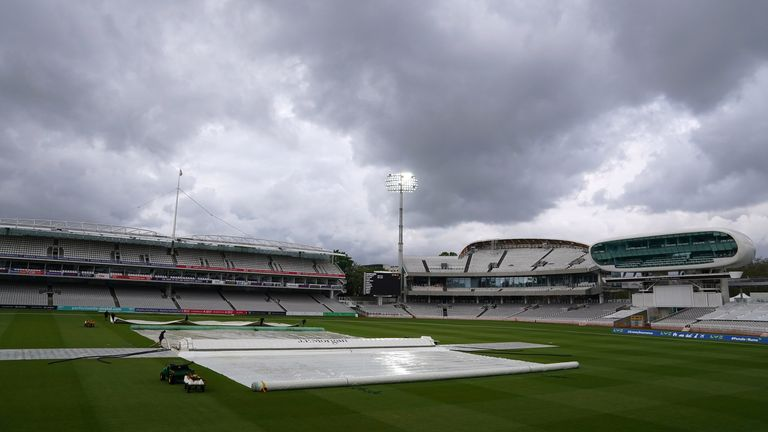 England vs New Zealand: Rain delays start to day three at Lord's as hosts look