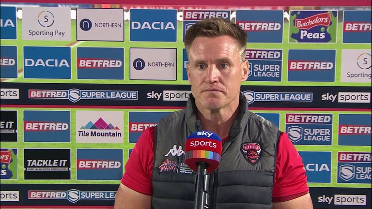 Richard Marshall said his side are way off where they want to be after losing 40-4 to Hull KR