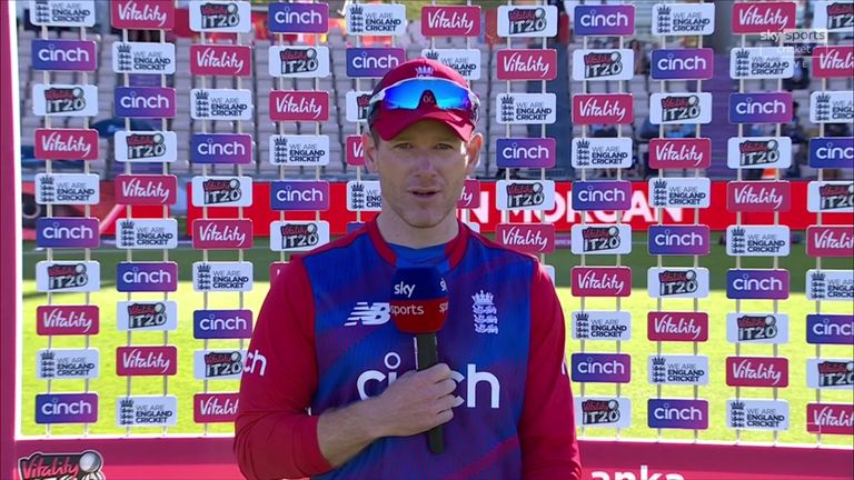 White-ball captain Eoin Morgan says England are blessed with options ahead of the T20 World Cup later this year