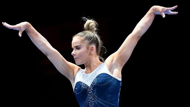アリス・キンセラは、東京オリンピックのGBチームのメンバーで最も経験豊富な体操選手になります