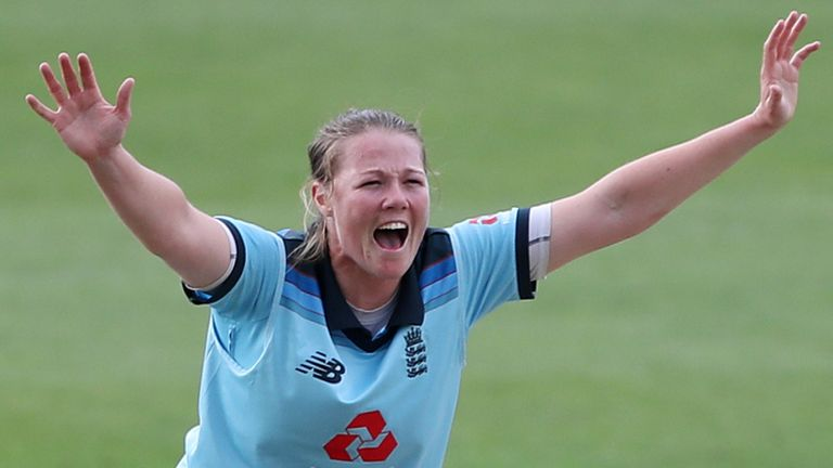 England captain Heather Knight says Anya Shrubsole will miss the first two one-day internationals against New Zealand with an ankle injury.