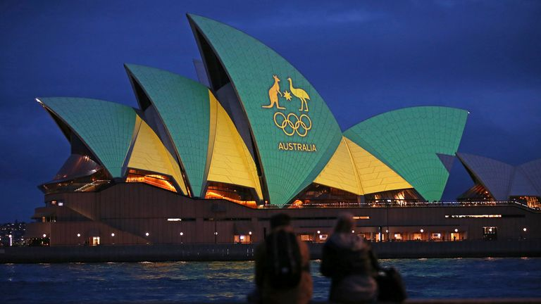 Australia last hosted the Olympic Games in Sydney in 2000