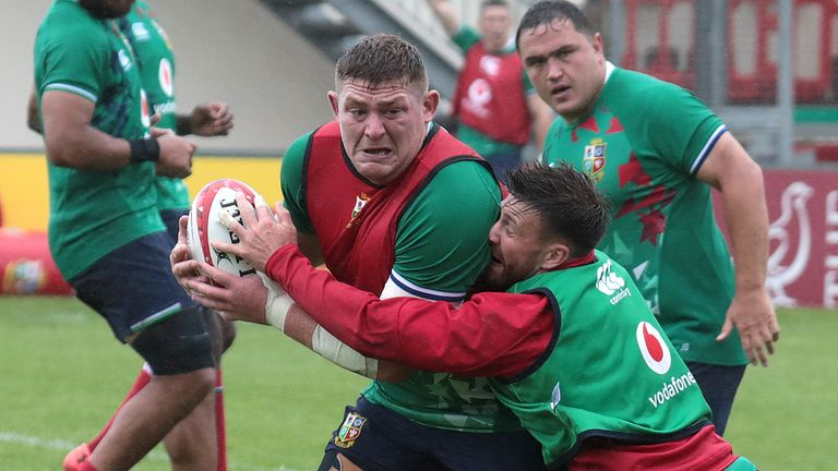 Ireland prop Furlong started all three Tests for the Lions against New Zealand in 2017