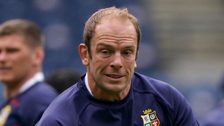 British and Irish Lions Alun Wyn Jones says the unusual environment around the tour made the squad stronger