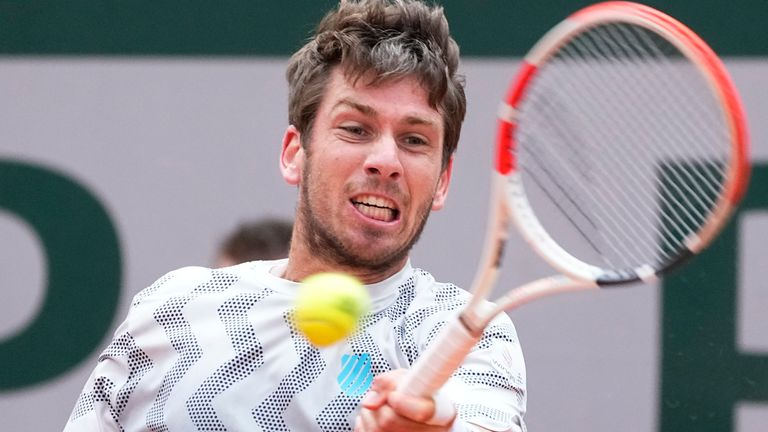 Cam Norrie is looking forward to showing the British public what he can do on grass