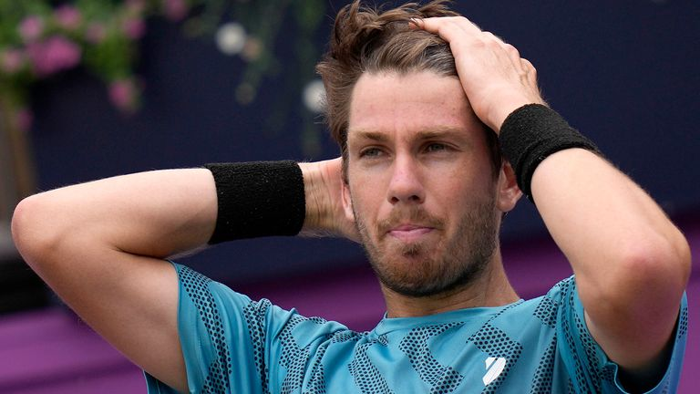 Cameron Norrie missed out on a first title at Queen's Club