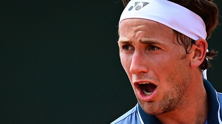 Norway's Casper Ruud could be the dark horse of this year's French Open at Roland Garros