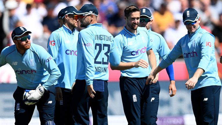 Chris Woakes produced a superb display on his return to the England ODI side