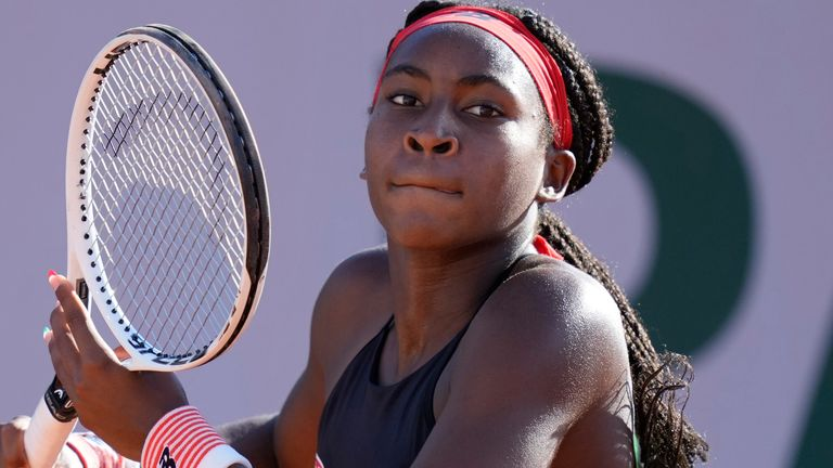 Coco Gauff is looking forward to enjoying the crowd experience of Wimbledon, albeit in limited numbers this year due to the coronavirus pandemic