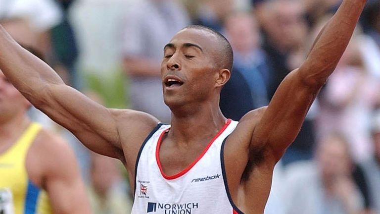 Colin Jackson has previously been a world record holder in the 110 metres hurdles and 60m hurdles