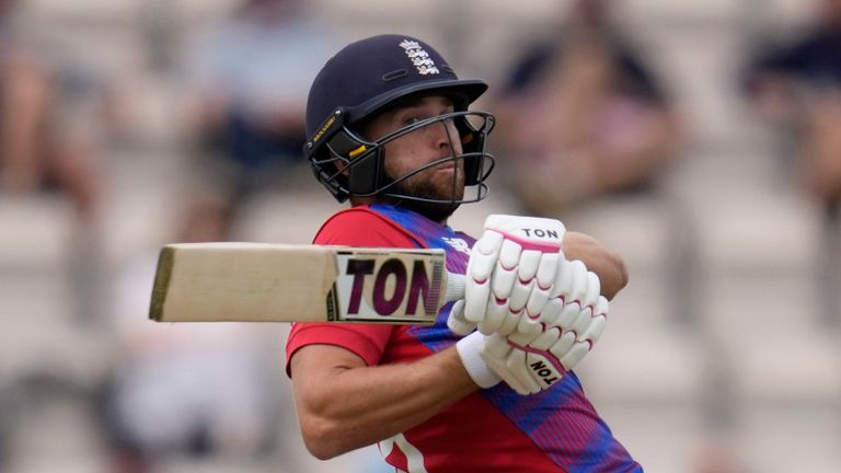 Malan moved up to open for England after Jos Buttler was ruled out due to injury