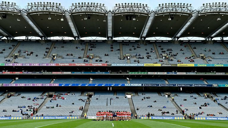 Croke Park will host the biggest trial event to date in Ireland, with up to 8,000 permitted to attend