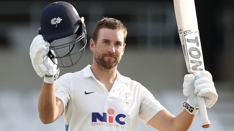 Dawid Malan hits hundred for Yorkshire after Sussex 16-year-old becomes County