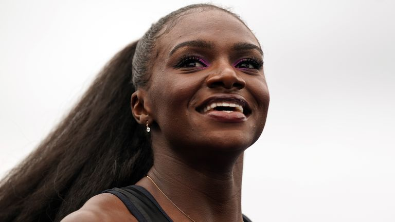 Dina Asher-Smith finished fifth in the 200m at Rio 2016 but the world champion will be chasing gold at Tokyo 2020