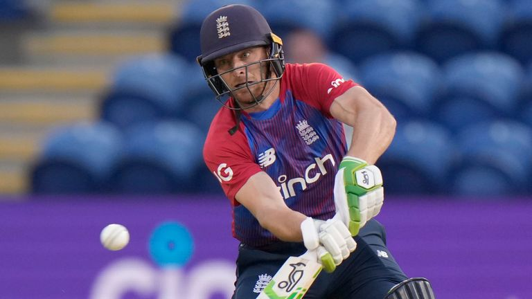 Buttler hit an unbeaten 68 as England cruised to victory