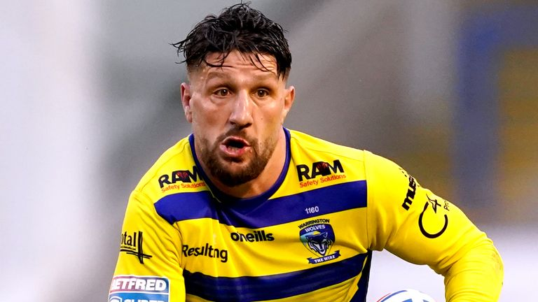 Warrington will be without Gareth Widdop for the trip to Wigan