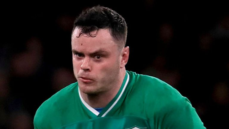James Ryan will remain with the Ireland squad preparing for summer Tests against Japan and the United States.