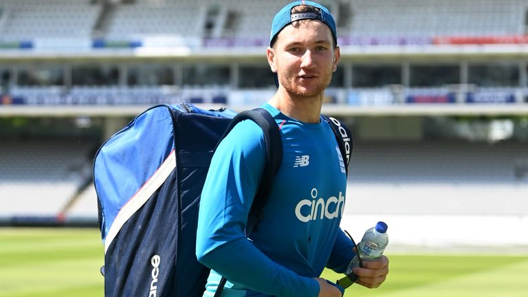 James Bracey will make his England debut against New Zealand at Lord's from Wednesday