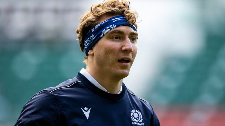 Ritchie made his debut against Canada in June 2018 and has now played 27 Tests