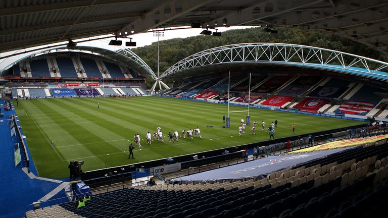 Huddersfield were due to face Wigan at the John Smith's Stadium on Friday