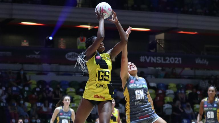Manchester Thunder finished the season on a high beating Leeds Rhinos in the third-placed play-off (Image: Morgan Harlow)