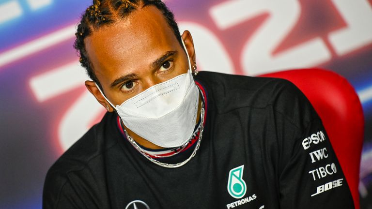 Lewis Hamilton reveals Mercedes talks underway for new Formula 1 contract into