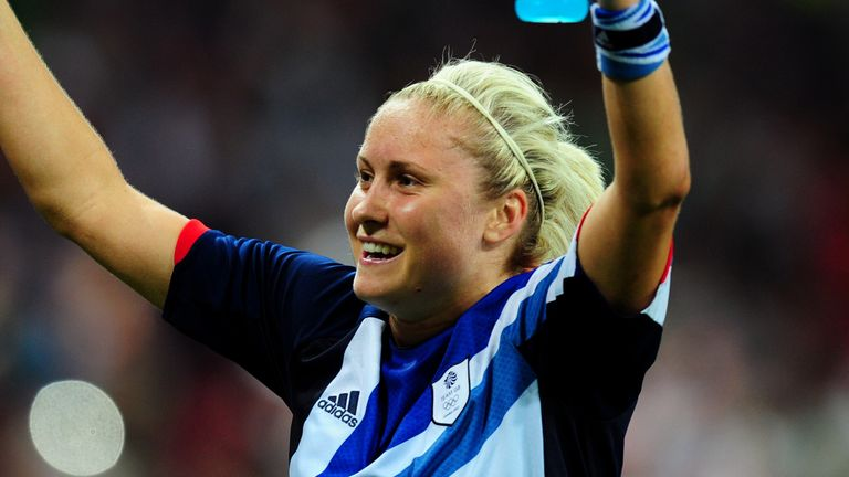 Manchester City's Esme Morgan recalls how Steph Houghton inspired her as a youngster watching the London 2012 Olympics.
