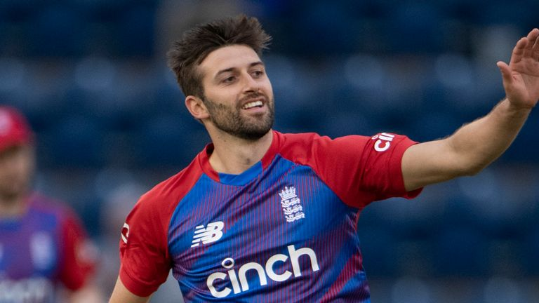Mark Wood found himself on a hat-trick as he returned figures of 2-18 from his four overs