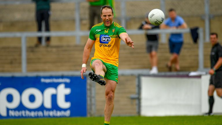 Donegal will be sweating on Murphy's fitness ahead of the Derry showdown
