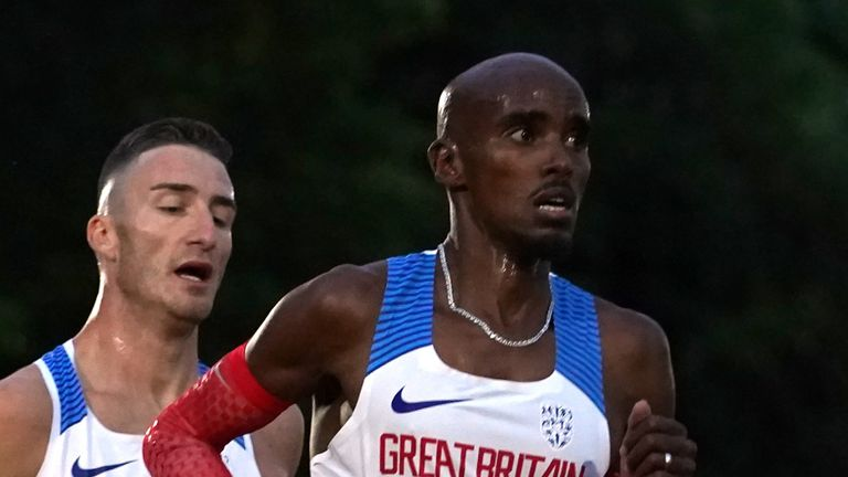 Mo Farah misses chance to seal Olympics spot after finishing eighth in