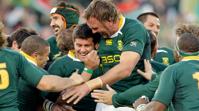 Steyn won the Lions series for South Africa in 2009 with a last-gasp penalty in the second Test
