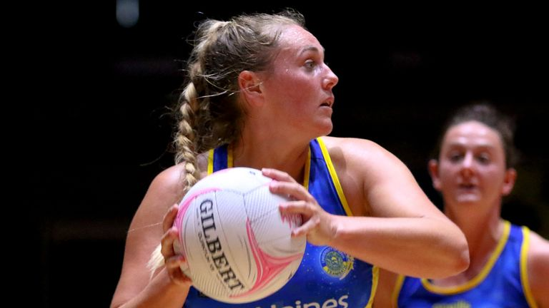 Team Bath Netball face Manchester Thunder in the Vitality Netball Superleague semi-finals on Saturday (Image credit - Ben Lumley)
