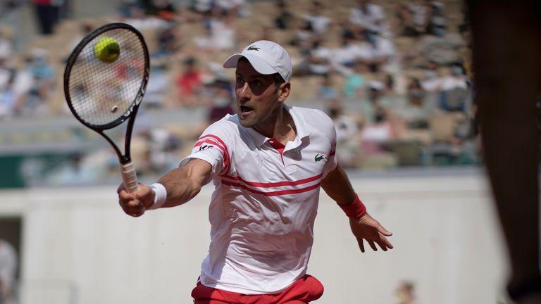 Novak Djokovic will next face Ricardas Berankis in the last 32