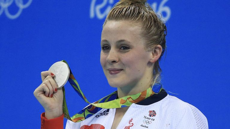 Siobhan won a stunning silver at the Rio Olympics in 2016