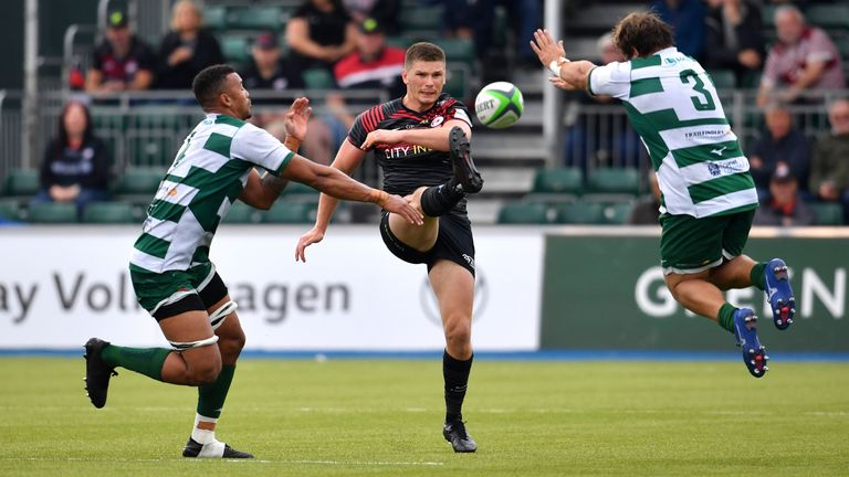 Saracens' Lions contingent featured in Sunday's game