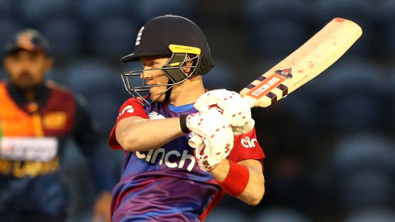Billings hit 29 and shared a vital half-century stand with Liam Livingstone in Thursday's clash with Sri Lanka